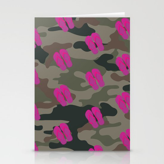I saw Cady Heron wearing army pants and flip flops ... - quote from Mean Girls Stationery Card