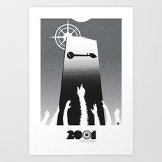 2001-black version (SK Films) Art Print