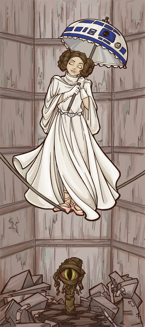 Leia's Corruptible Mortal State Art Print