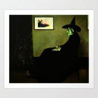 Wizzler's Mother     Wic… Art Print