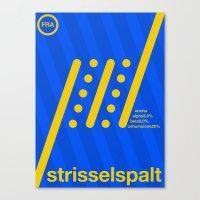 strisselspalt single hop Canvas Print