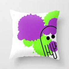 Pulpo Throw Pillow