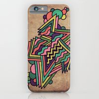 iPhone & iPod Case featuring Neon Grit by Laura Bubar Original Artwork