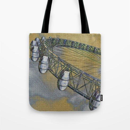 The London Eye Art Tote Bag