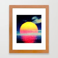 The Sun # 3 Framed Art Print