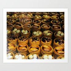 turkish sweets Art Print
