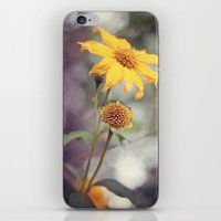 Yellow Florals iPhone & iPod Skin