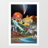 Art Print featuring We Were All Born In Augu… by Eugenia Loli