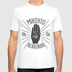 10¢ Psychic Mens Fitted Tee White SMALL