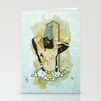Showering that Sarlacc Off Stationery Cards