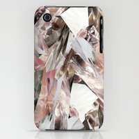 iPhone 3Gs & iPhone 3G Cases featuring Arnsdorf SS11 Crystal Pattern by RoAndCo