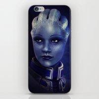Mass Effect: Liara T'soni iPhone & iPod Skin