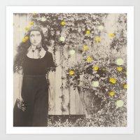 Dahlia Gaze Art Print