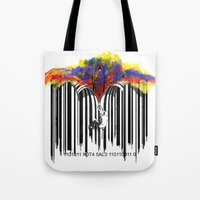 unzip the colour code Tote Bag