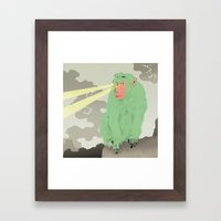 mono Framed Art Print