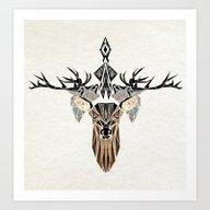 Deer's Love Art Print