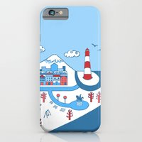 iPhone & iPod Case featuring Harbor by Susana Carvalhinhos