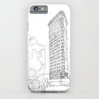 Flat Iron Building iPhone 6 Slim Case