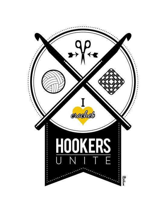 Hookers Unite Canvas Print