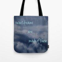goose dreams Tote Bag