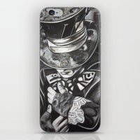 THE MAD HATTER II iPhone & iPod Skin
