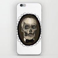 Dapper Skull  iPhone & iPod Skin