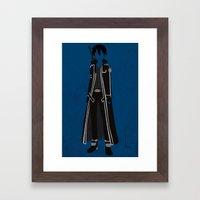Kirito Framed Art Print