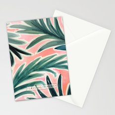 Lush Tropical Palm Stationery Cards