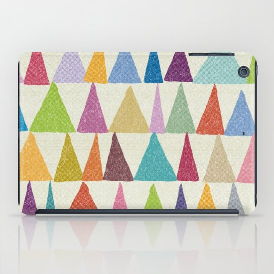 Analogous Shapes In Bloom. iPad Case
