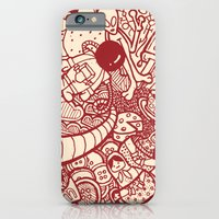 iPhone & iPod Case featuring #MoleskineDaily_06 by maykel nunes