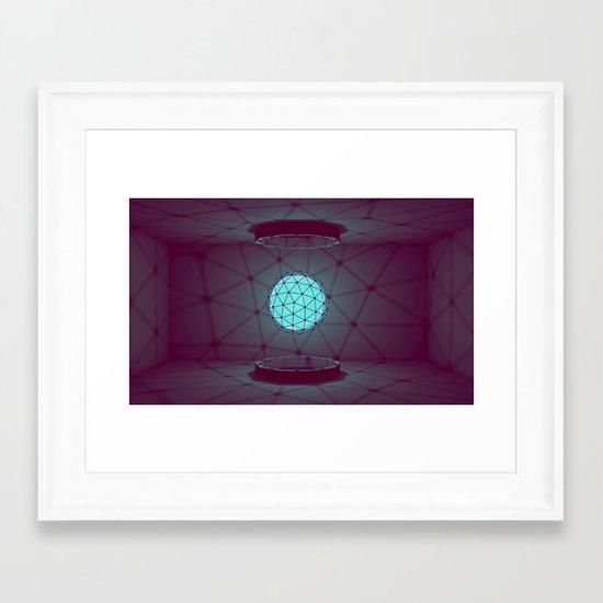 Orb [Style Frame] Framed Art Print