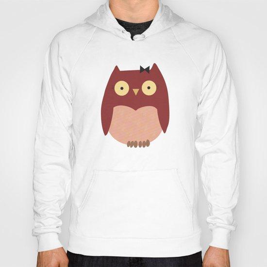 Girl Owl Hoody