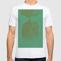 One Tree Planet *remastered* Mens Fitted Tee Ash Grey SMALL