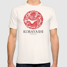 Kobayashi Mens Fitted Tee Natural SMALL