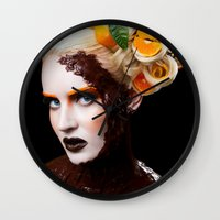 Chocolate Orange Wall Clock