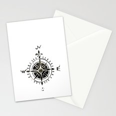 Compass - by Genu Stationery Cards