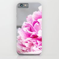 iPhone Cases featuring peonies III by petra zehner