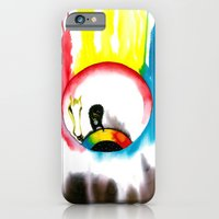 iPhone & iPod Case featuring The Eye by MARIA BOZINA - PRINT