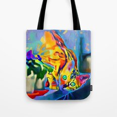 Chessy Cat Tote Bag