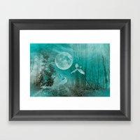 FOREST DREAMING Framed Art Print