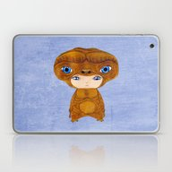 A Boy - E.T. The Extra-t… Laptop & iPad Skin