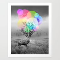 Art Print featuring Calm Within The Chaos by Soaring Anchor Desig…