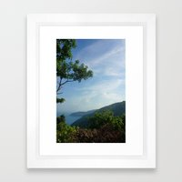 Secluded Seaside Framed Art Print