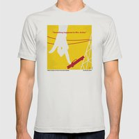 No276 My Attack of the 50 Foot Woman minimal movie poster Mens Fitted Tee Silver SMALL