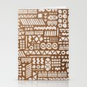 Northwoods Pattern. Stationery Cards