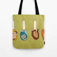 Some Girls Living In A N… Tote Bag