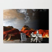 smack talk Canvas Print