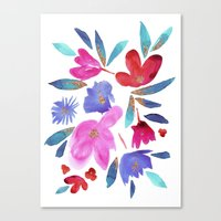 LeiLani Flower Canvas Print