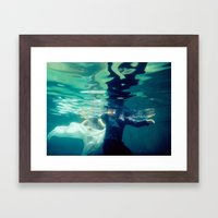 Chasing Love Framed Art Print