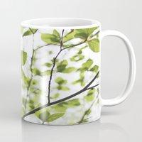 Butterfly leaf Mug